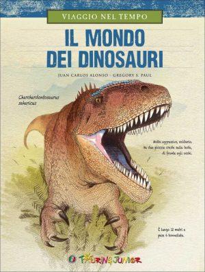 Libro sui dinosauri del Touring club