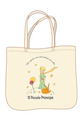 borsa tela piccolo principee